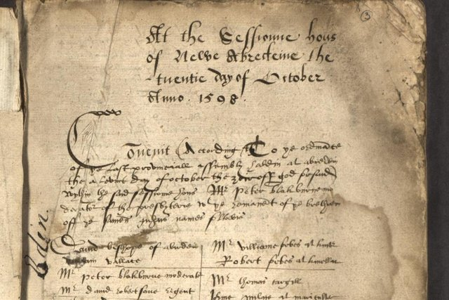 More than one million pagesof minutes formthe Kirk Session of the Church of Scotland have gone online