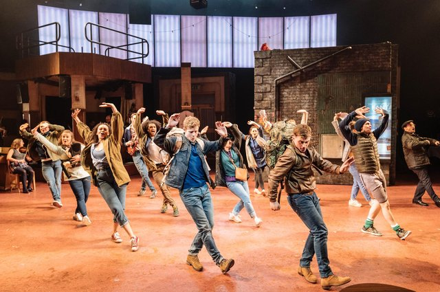 Sunshine on Leith has been one of the most successful new musicals staged in Scotland in recent years. Picture: Manuel Harlan