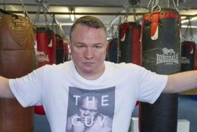 Gunned down: Bradley Welsh