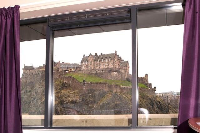 The new Edinburgh hotel will boast castle views