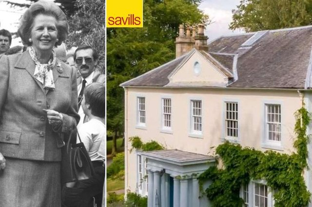 Margaret Thatcher visited the property before she became Prime Minister. Picture: Savills