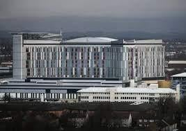 The Queen Elizabeth Hospital in Glasgow has been blighted by problems.