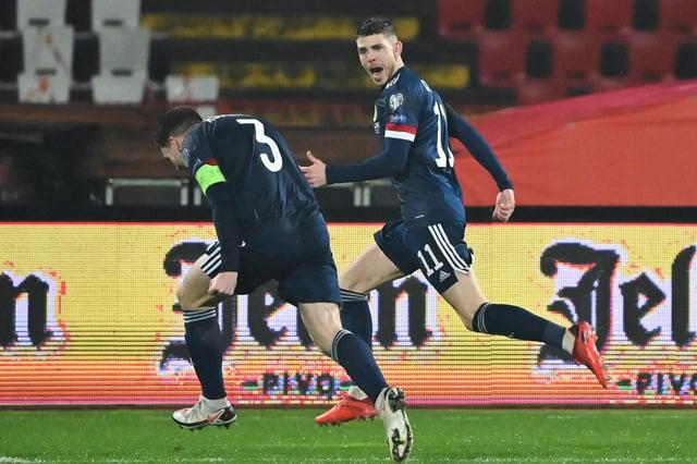 Ryan Christie put Scotland ahead in Belgrade.