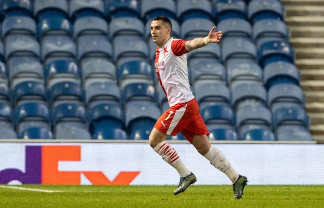 Nicolae Stanciu made a controversial stance in support of club team-mate Ondrej Kudela. Picture: SNS