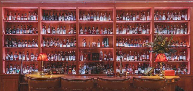 The Quaich bar at the Craigellachie Hotel. Picture: Till Britze