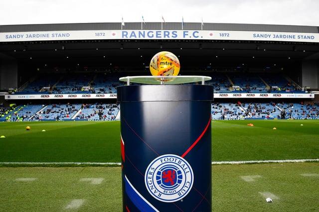 Rangers to end their Ladbrokes partnership ahead of next season. Picture: SNS