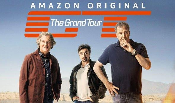 Jeremy Clarkson, Richard Hammond and James May travel the globe as the hosts of Amazon original series Grand Tour.