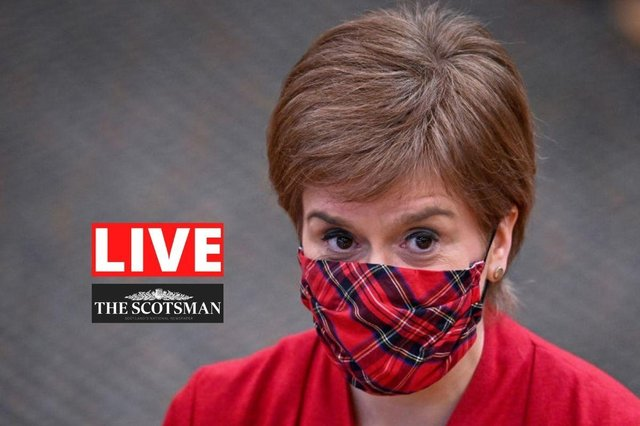 Nicola Sturgeon gives her statements on the new routemap out of lockdown.