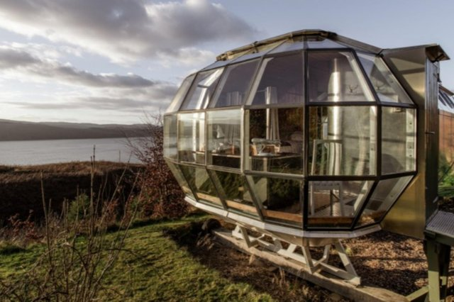 It's unlikely you've ever stayed in holiday accommodation like AirShip 2 before.