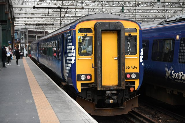 Only six routes in the Glasgow area will operate during the next series of Sunday strikes. Picture: John Devlin