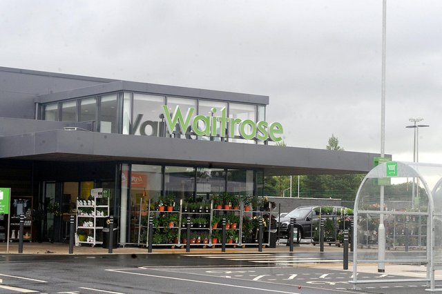 The properties trading as Waitrose stores in  Milngavie, above, and Glasgow have changed hands as part of the overall property investment deal. Picture: Emma Mitchell
