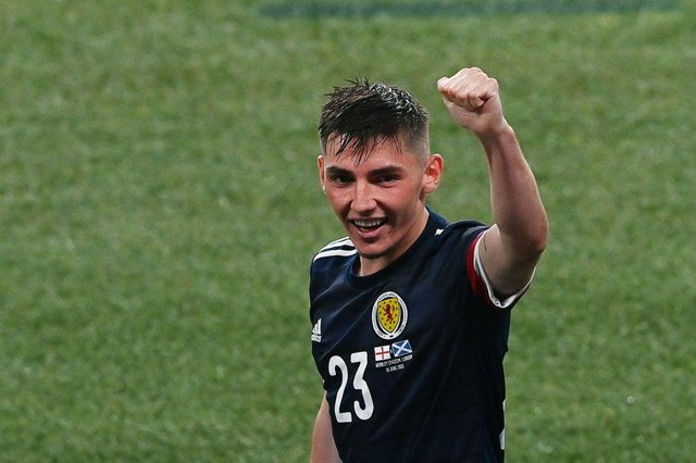 Billy Gilmour is set to leave Chelsea on loan. (Photo by FACUNDO ARRIZABALAGA/POOL/AFP via Getty Images)