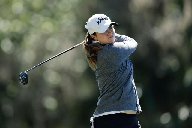 Leona Maguire during the final round of the LPGA Drive On Championship at Golden Ocala Golf Club in Florida in March. Picture: Michael Reaves/Getty Images.