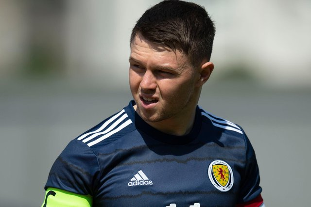 Glenn Middleton, who captained Scotland under-21s this week, wants his Scottish Cup success on-loan with St Johnstone to be the springboard to force his ay into Steven Gerrard's plans next season.(Photo by Craig Foy / SNS Group)