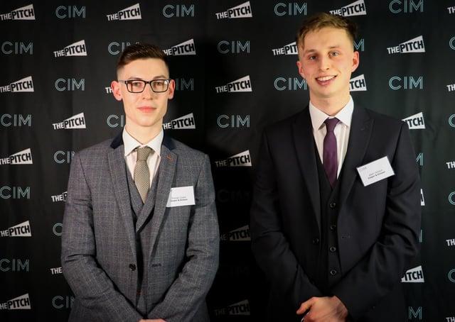 Thomas Cooper (left) and Adam Dickson. Picture: contributed.