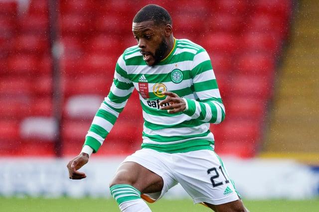 Celtic midfielder Olivier Ntcham.