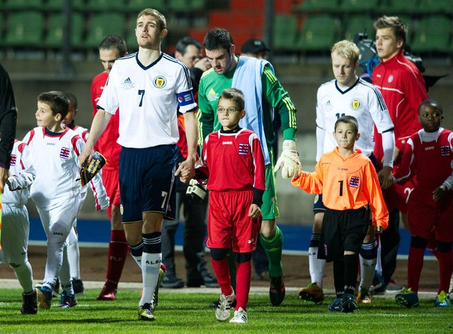 Scotland last played Luxembourg in 2012. Picture: SNS