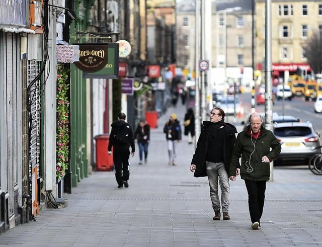 Leith Walk in Edinburgh. Picture: Lisa Ferguson