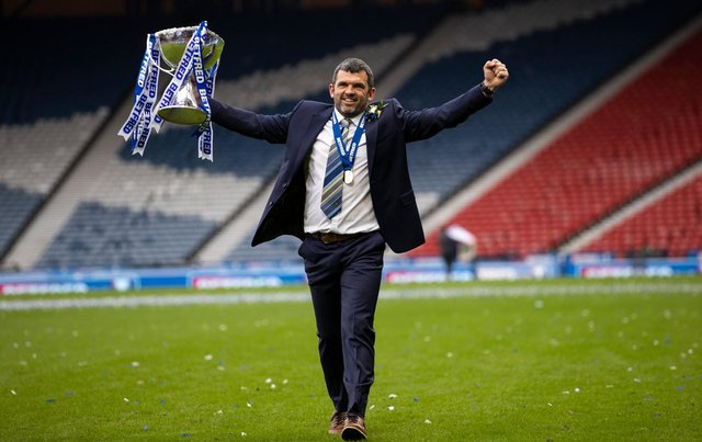 Callum Davidson has had a brilliant rookie campaign as manager. Picture: SNS
