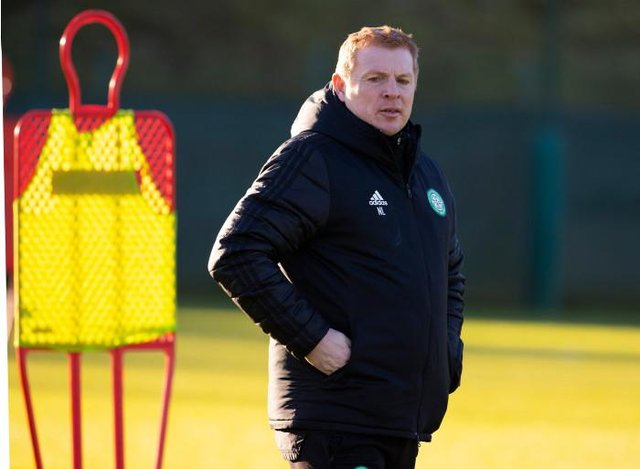 Neil Lennon has hit back at Leigh Griffiths' claims. (Photo by Alan Harvey / SNS Group)