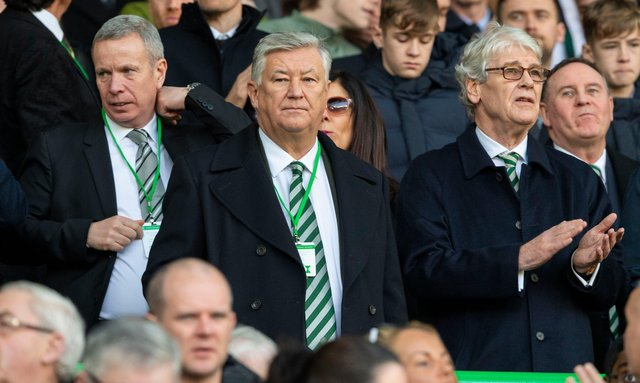Celtic chief executive Peter Lawwell. Picture: Alan Harvey
