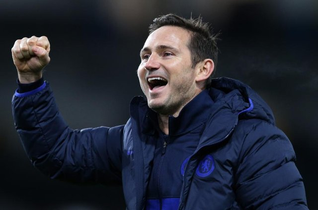 Frank Lampard is expected to be replaced by former Paris St-Germain boss Thomas Tuchel (Getty Images)