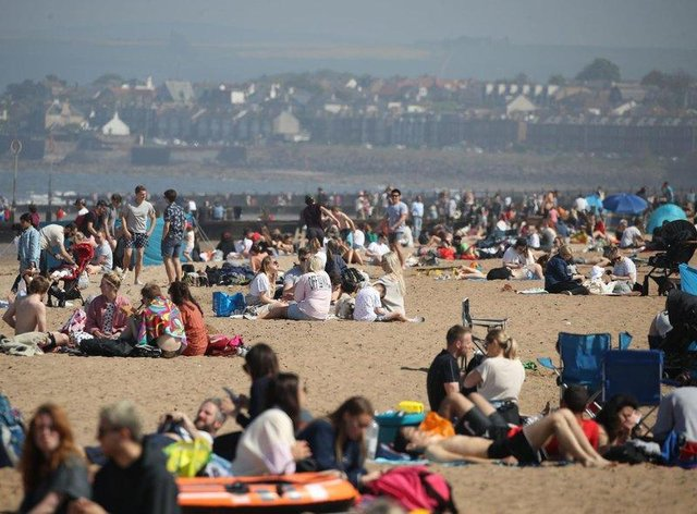 Summer to continue for another day as temperatures are forecast to potentially climb even higher than bank holiday Monday. (Credit: Andrew Milligan)