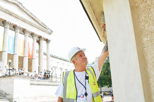 Bell Group, which employs more than 1,600 people from 31 locations across the UK, has also worked on many historic buildings and palaces.