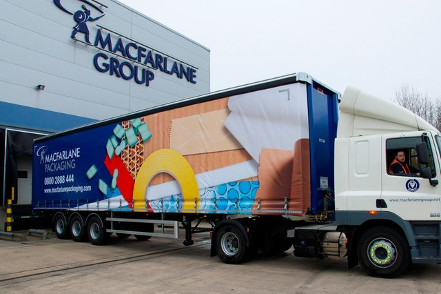Glasgow based Macfarlane Group is the largest supplier of protective packaging in the UK.