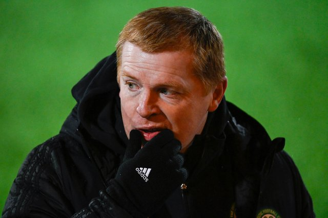 Celtic manager Neil Lennon speaks to the media ahead of the 2-2 draw at Livingston on January 20 (Photo by Rob Casey / SNS Group)