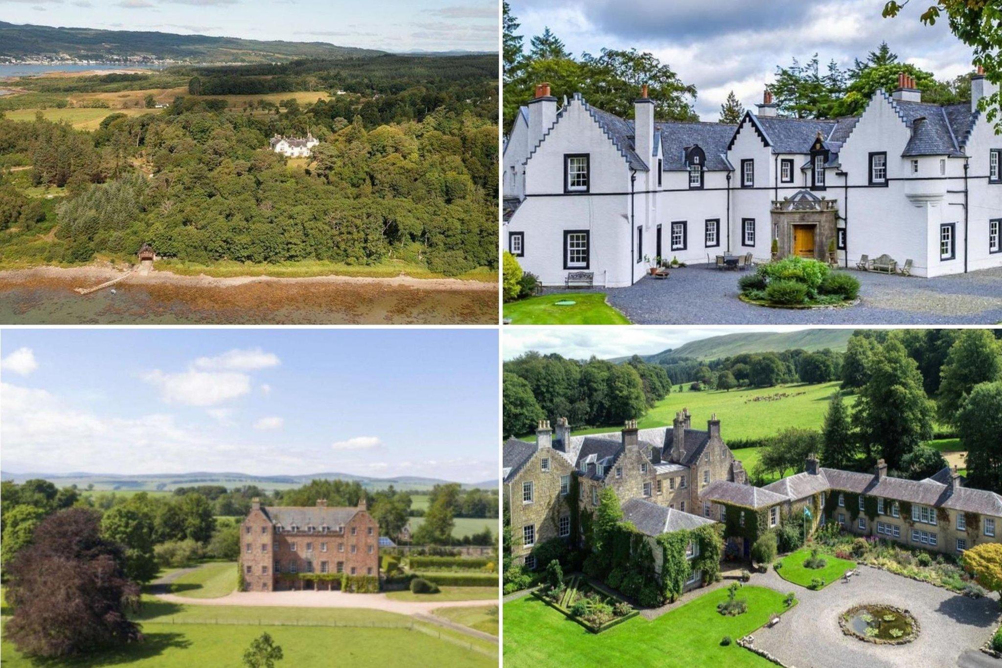 Undian EuroMillion: Berikut adalah 7 properti Skotlandia yang layak untuk pemenang lotre yang ada di pasaran sekarang