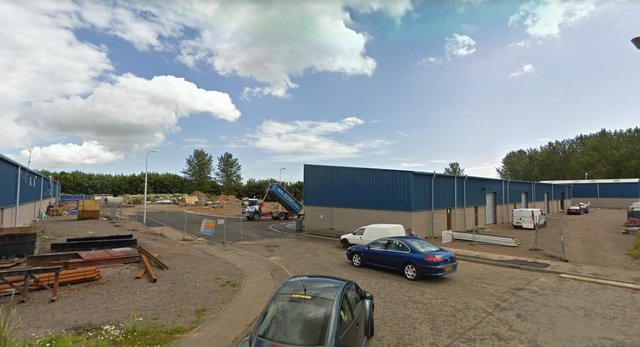 Two businesses were targeted in Matthew Kerr Place at the Kirkton Industrial Estate, Arbroath,between 12am and 1.30am on Saturday, June 5.