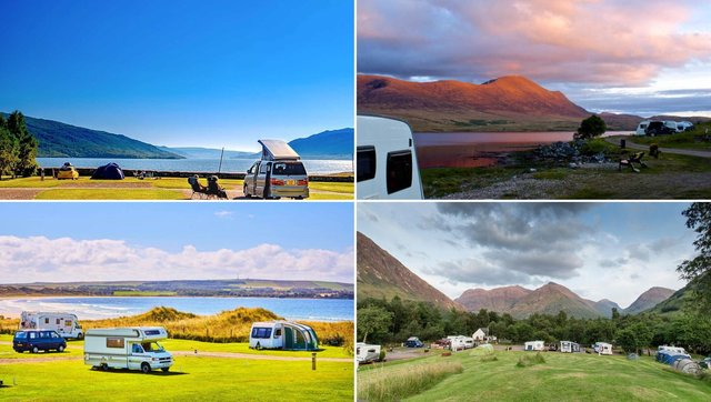 Scotland boasts a wide selection of scenic caravan parks.