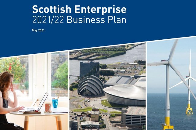Scottish Enterprise's latest business plan sets out how it plans to spend its £400m budget to support the nation's economic recovery.