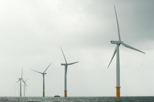 Offshore wind farms are becoming an increasingly important source of power across the UK. Picture: Anna Gowthorpe/PA Wire