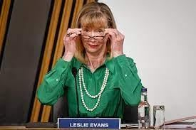 Permanent secretary Lesley Evans was criticised during the Alex Salmond inquiry