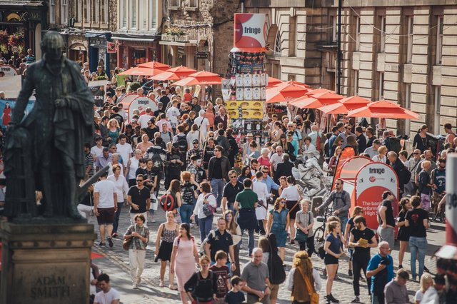 Edinburgh's festivals attracted an audience of more than four million in 2019. Picture: David Monteith-Hodge
