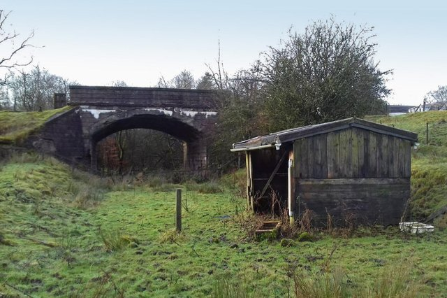 This bridge at Shilford in East Renfrewshire is on a proposed Neilston-Uplawmoor walking and cycling route. Picture: UDT