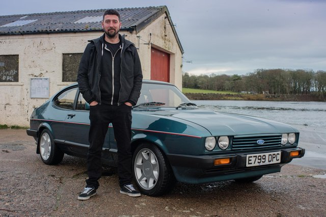 Producer and presenter Iain Mackay explores the world of the 1970s 'petrolhead' on the island of Lewis.PIC: Contributed.