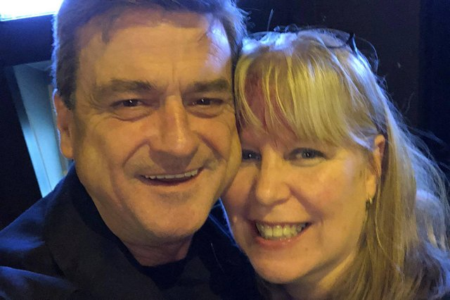 Les McKeown and Kat Connor in Hackney, 2018