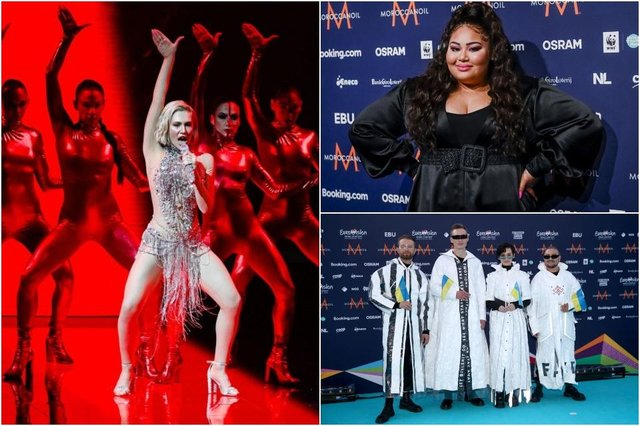 (Clockwise from top left) Eurovision 2021 entries for Cyprus, Malta and Ukraine were hoping to impress during semi-final 1 (Photos: Getty Images)