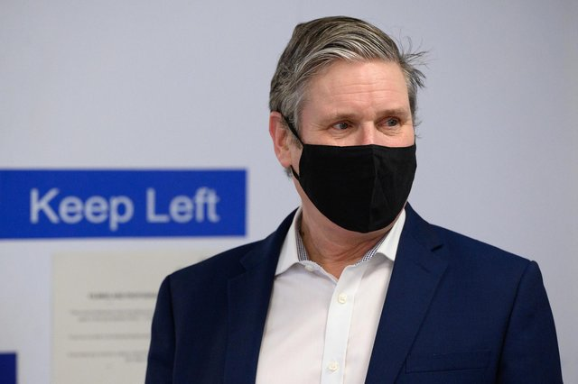 Labour Party leader Sir Keir Starmer will arrive in Scotland today and call for UK-wide focus recovering from the pandemic