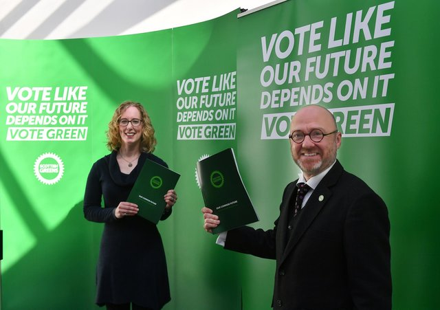 Scottish Green leaders Patrick Harvie and Lorna Slater have been asked to put trans rights issues top of the agenda in SNP deal talks.