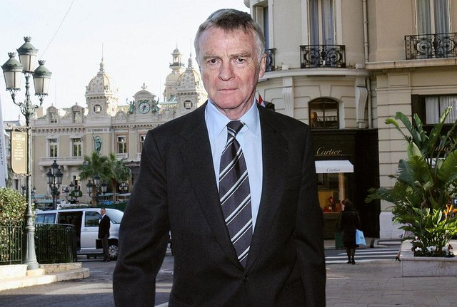 Max Mosley on business in Monaco in 2007 (Picture: Getty)