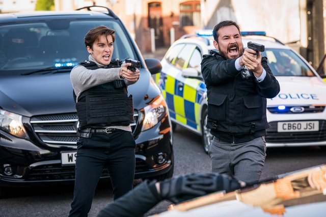 DI Kate Fleming (Vicky McClure), and DI Steve Arnott (Martin Compston) in the highly anticipated Line of Duty finale (BBC/World Production/Steffan Hill)
