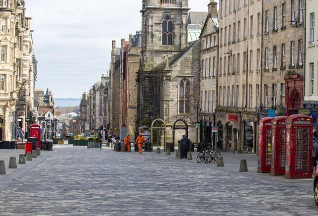 Hotel bookings across Scotland are down. Picture: Lisa Ferguson/JPIMedia