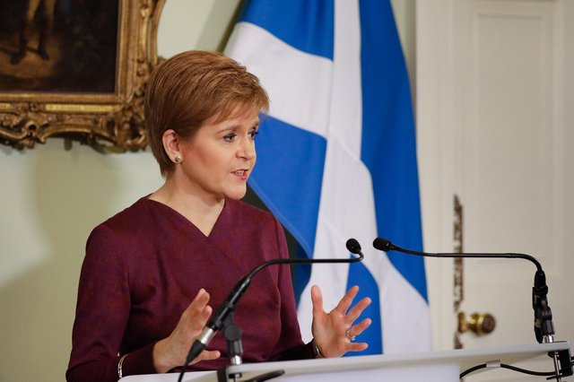 Nicola Sturgeon condemned border protests