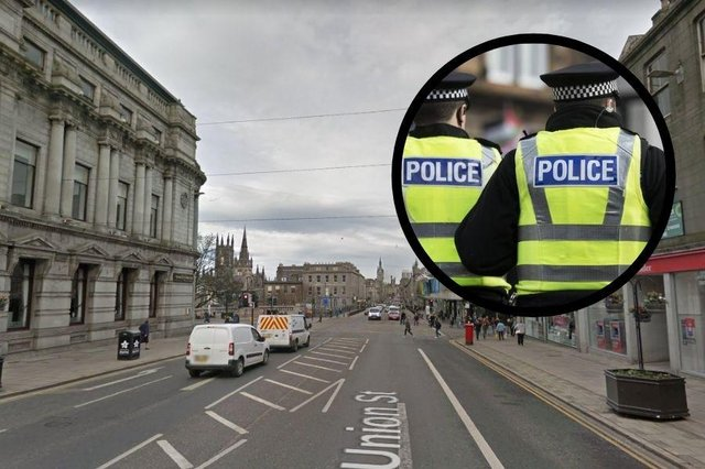 Four thefts have taken place in Aberdeen City Centre since the beginning of February.