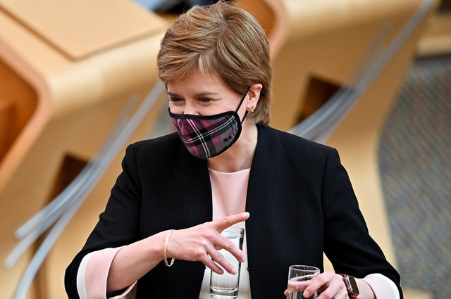 Nicola Sturgeon should set up an independent public inquiry into the Covid pandemic as soon as possible (Picture: Jeff J Mitchell/Getty Images)