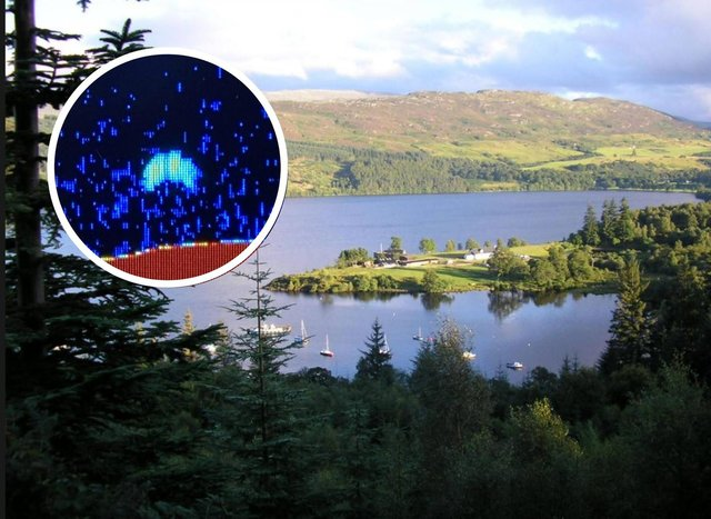 Could this sonar image, inset, finally provide proof that Nessie exists?